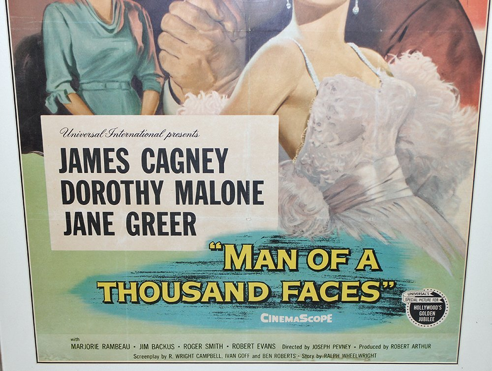 MAN OF A THOUSAND FACES MOVIE POSTER - 3
