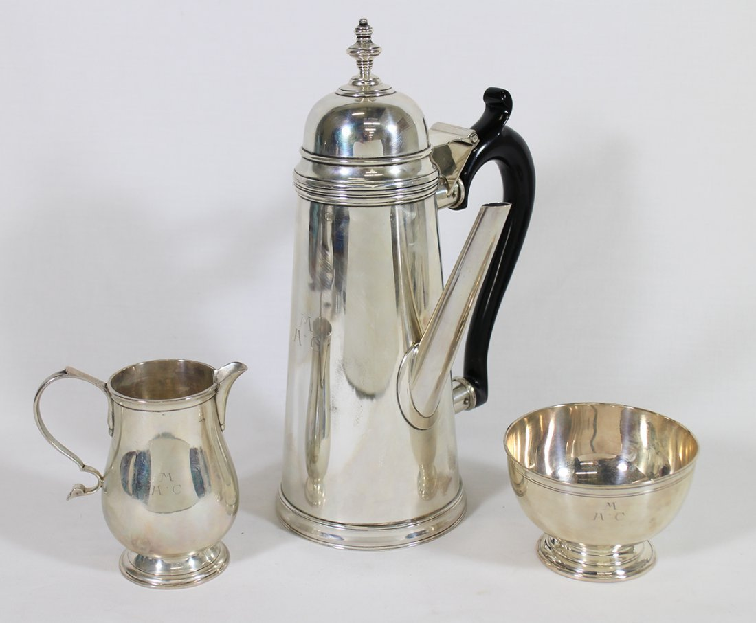 STIEFF STERLING COLONIAL WILLIAMSBURG SET