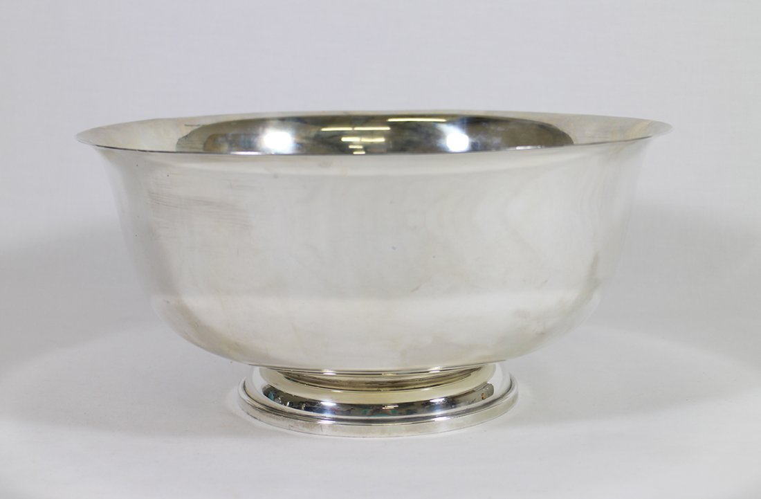FISHER PAUL REVERE STERLING CENTERPIECE BOWL
