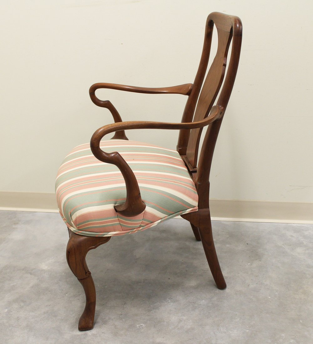 QUEEN ANNE ARMCHAIR - 2