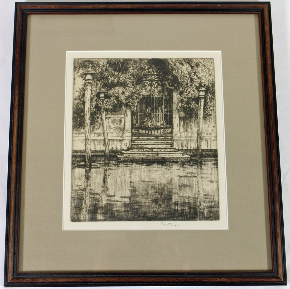 ERNEST D. ROTH SIGNED ETCHING - 3