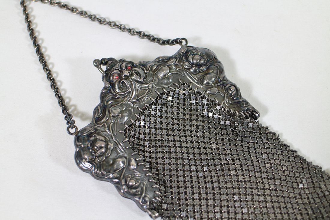 (2) STERLING SILVER PURSES - 5