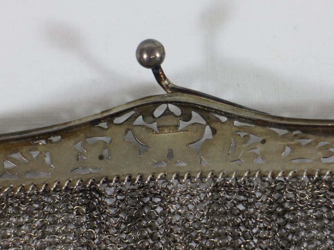 (2) STERLING SILVER PURSES - 7