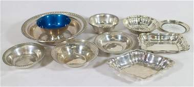STERLING BOWLS & DISHES