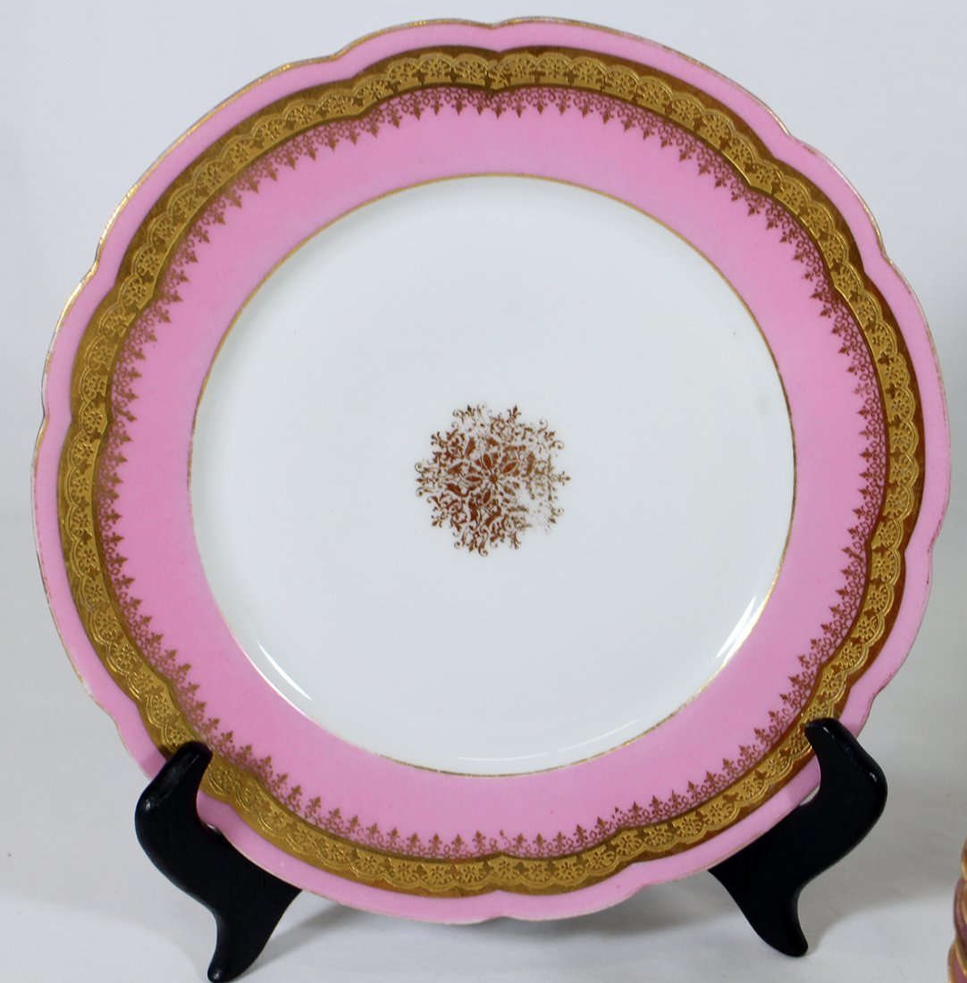 19TH CENT. JEAN POUYAT LIMOGES CHINA - 2