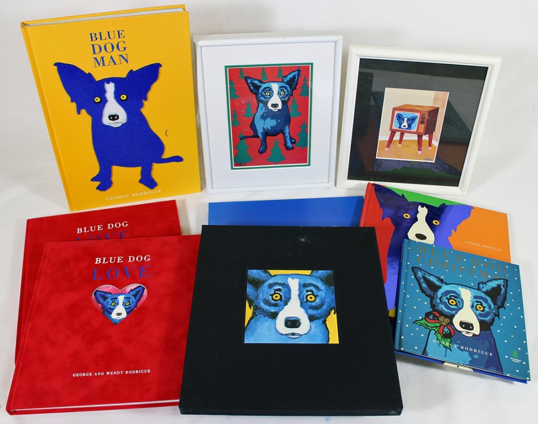 GEORGE RODRIGUE BLUE DOG COLLECTION