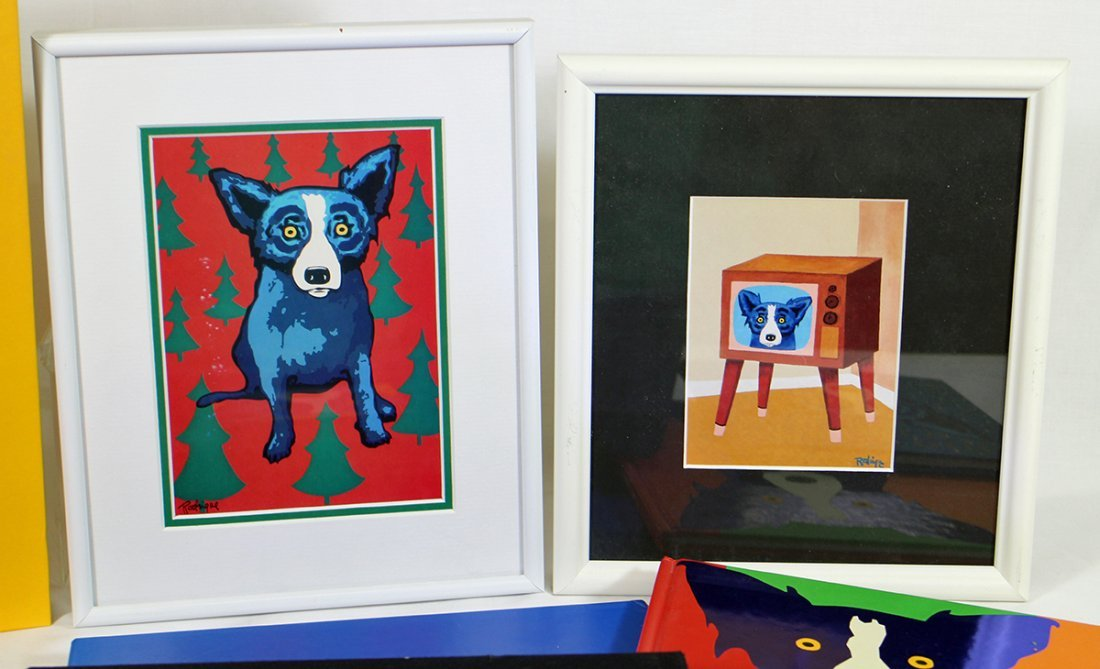 GEORGE RODRIGUE BLUE DOG COLLECTION - 2