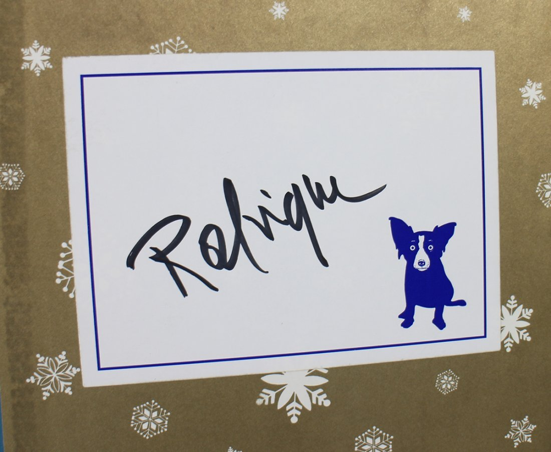GEORGE RODRIGUE BLUE DOG COLLECTION - 3