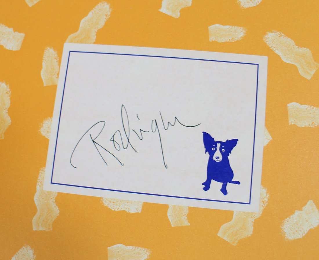 GEORGE RODRIGUE BLUE DOG COLLECTION - 4