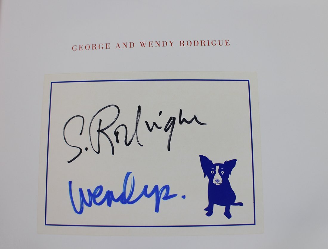 GEORGE RODRIGUE BLUE DOG COLLECTION - 5