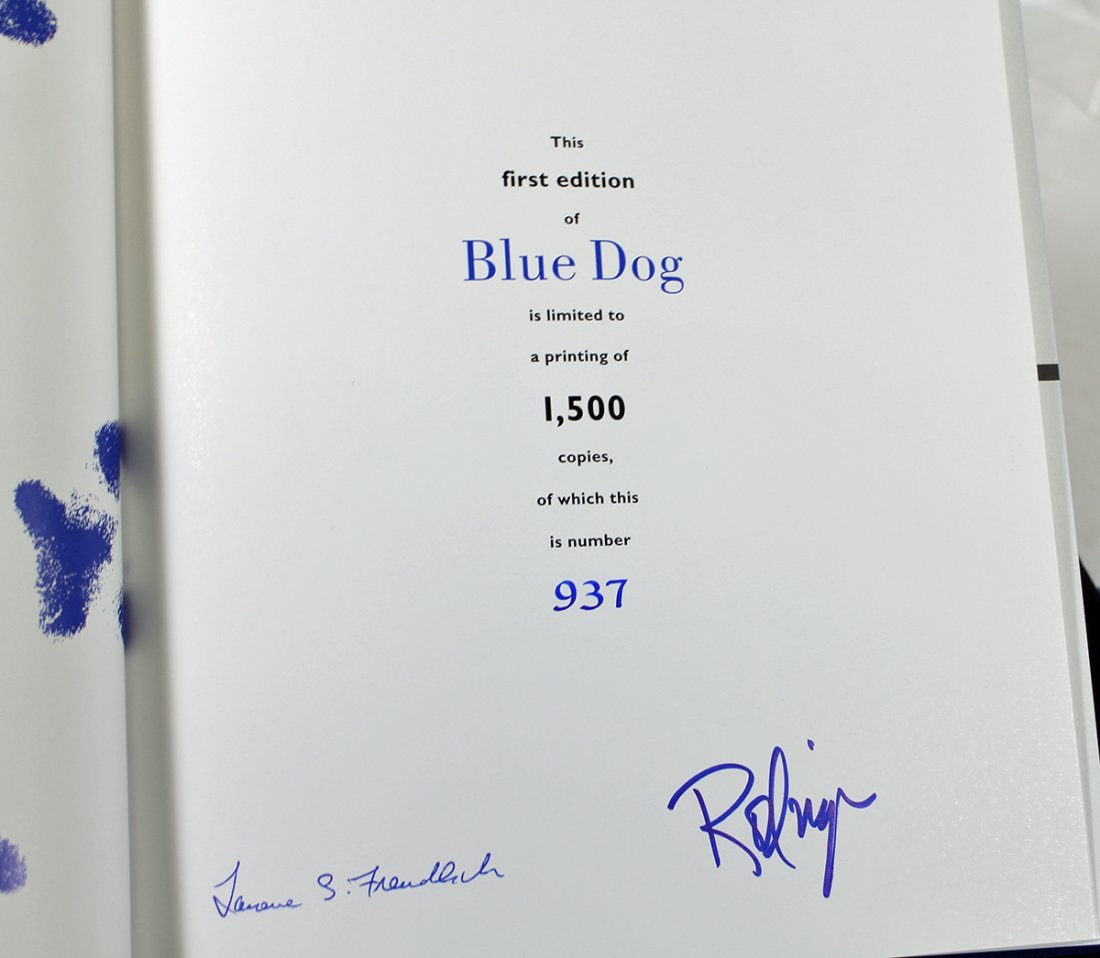 GEORGE RODRIGUE BLUE DOG COLLECTION - 7