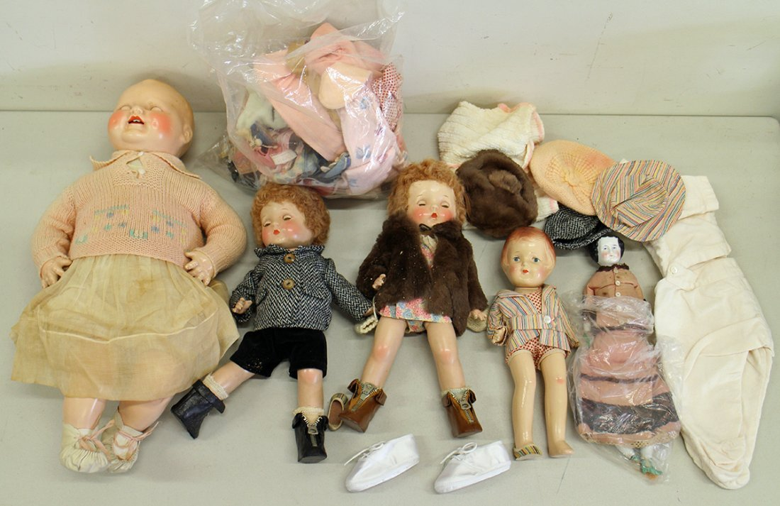 VINTAGE & ANTIQUE DOLLS