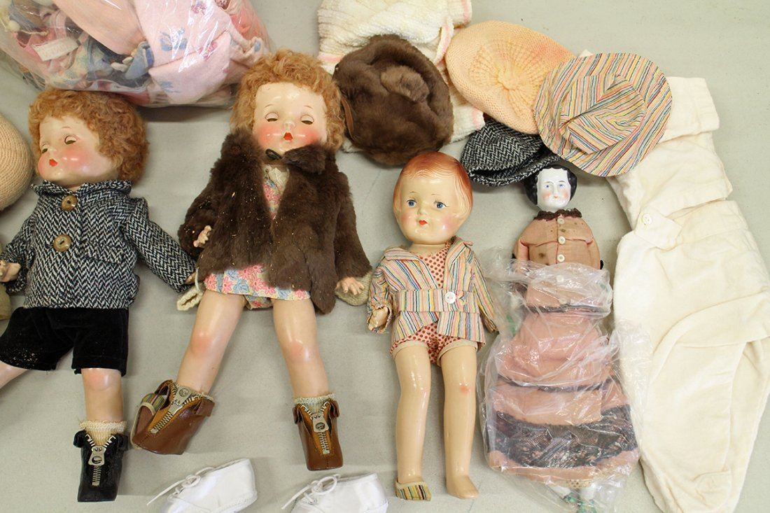 VINTAGE & ANTIQUE DOLLS - 3