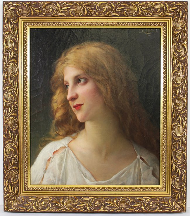 CHARLES AMABLE LENOIR PAINTING
