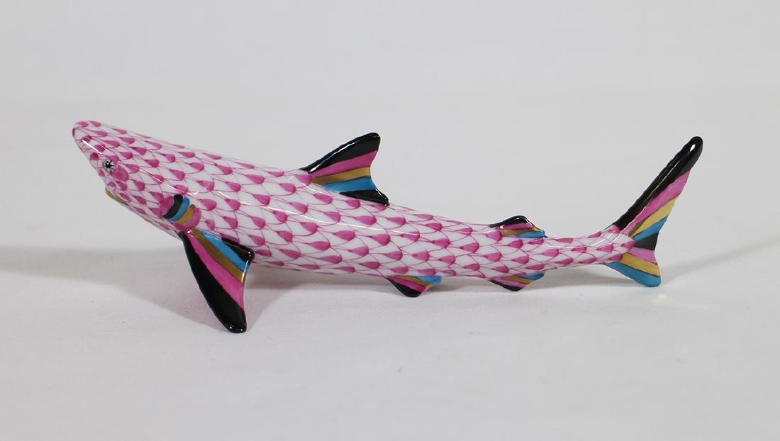 HEREND SHARK FIGURINE