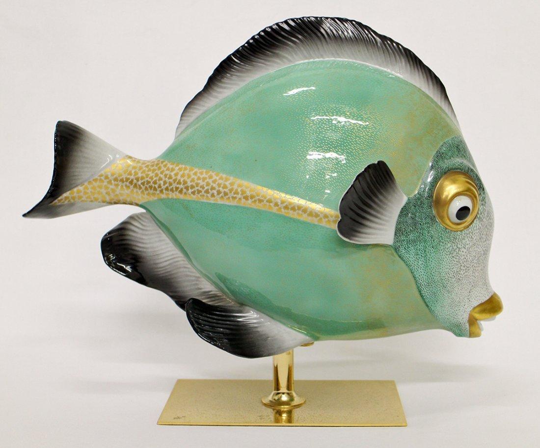 OGGETTI MANGANI FISH SCULPTURE