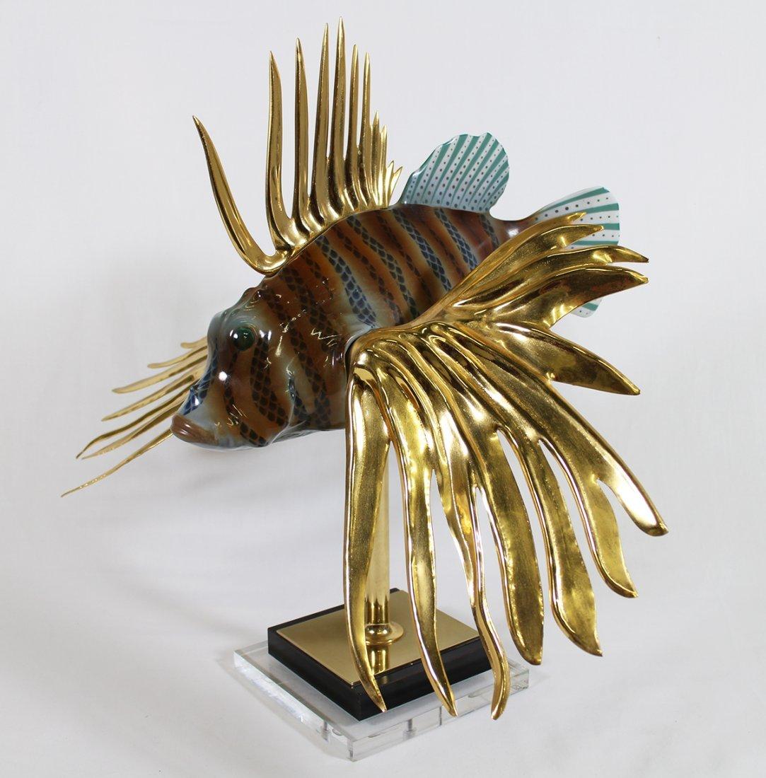 OGGETTI LION FISH SCULPTURE