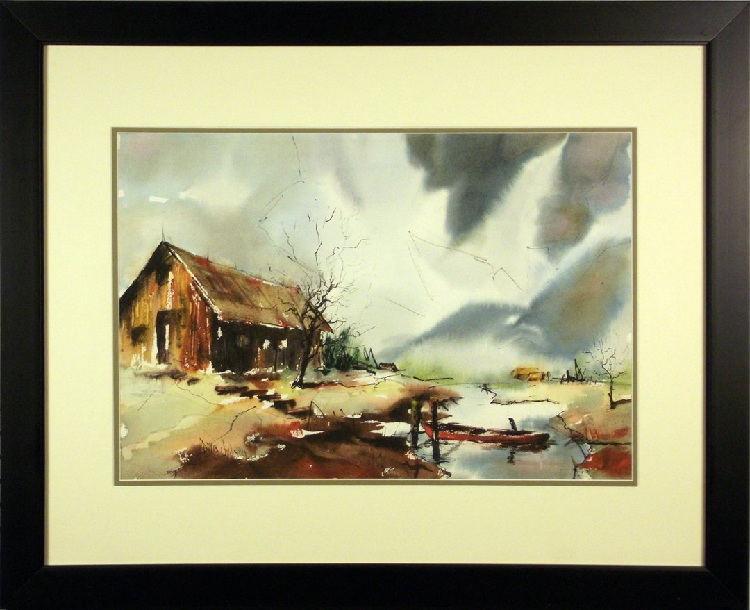 227: JUDSON WATERCOLOR