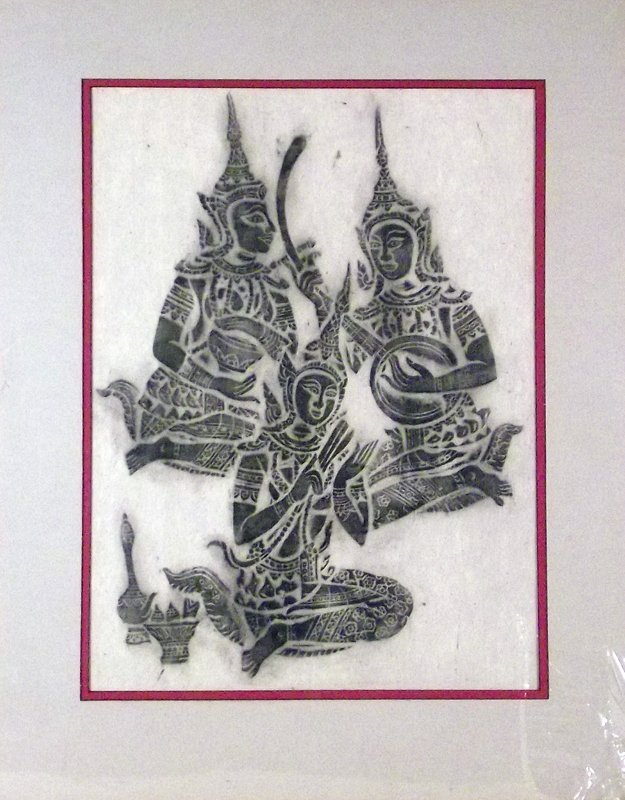 857 - Block Print