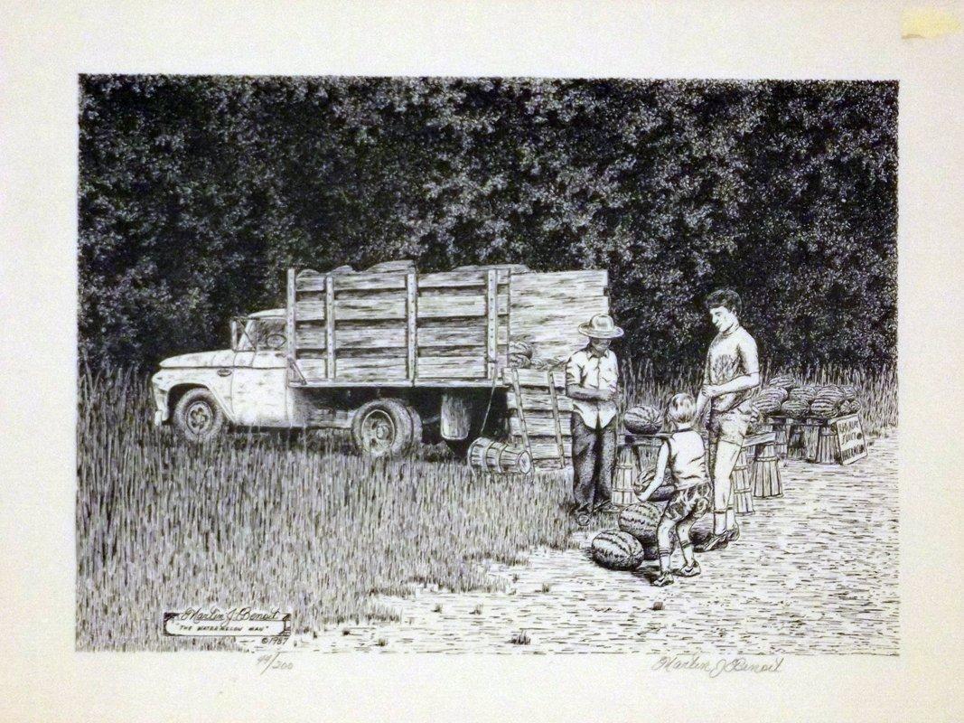 871 - Benoit Print