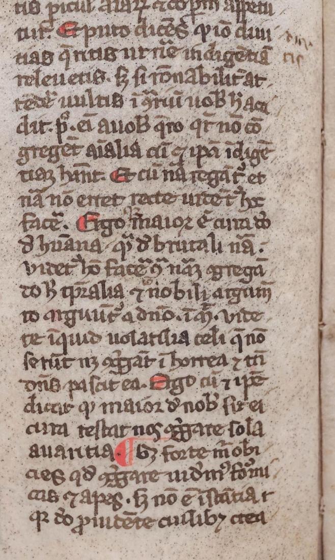 1275-1300 Medieval Manuscript on Vellum from Spain - 2