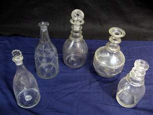 Blown Decanters