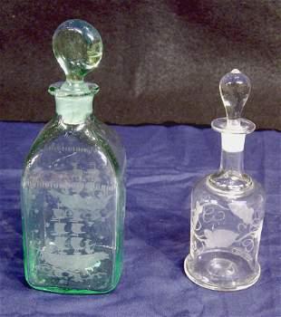 Etched Bottles