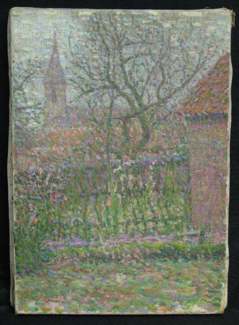 60: Pointillist Impressionist Oil