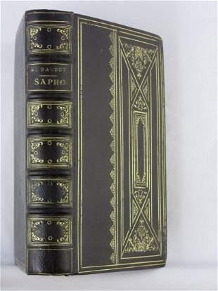 DAUDET, ALPHONSE Sapho Illustrations by Rossi, Myrbach,