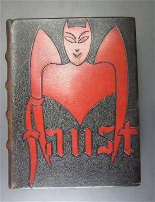 GOETHE, JOHANN. Faust. Translated by Gerard de Nerval.
