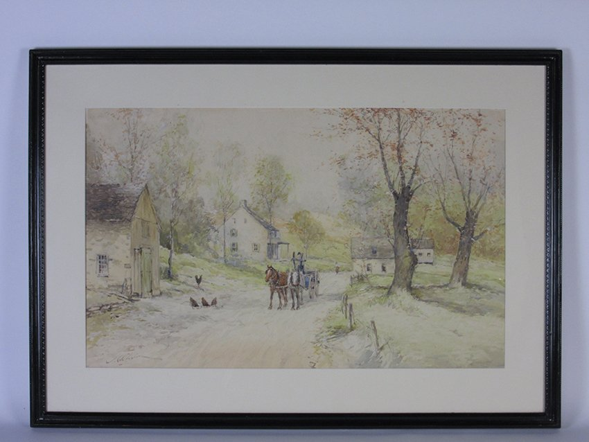 Lumberville Pennsylvania. CLAGHORN, JOSEPH. 1869-1947