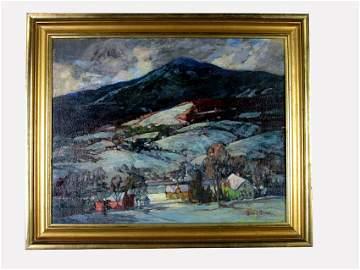 Country Landscape. BONNAR, JAMES KING. 1885-1961