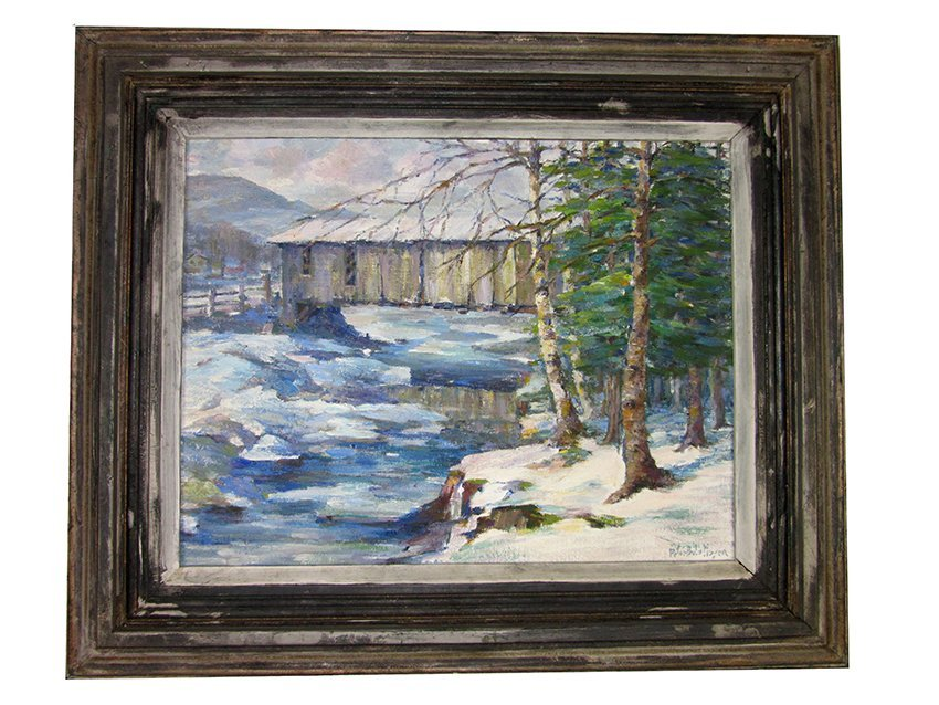 Winter's Charm. MAYER, PETER BELA. 1888-1954 American: