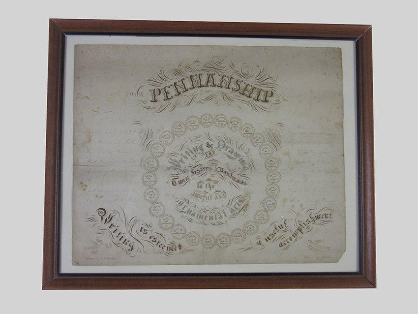 Calligraphic Sampler. GARLAND, C. H. 1862- Wolfeboro,