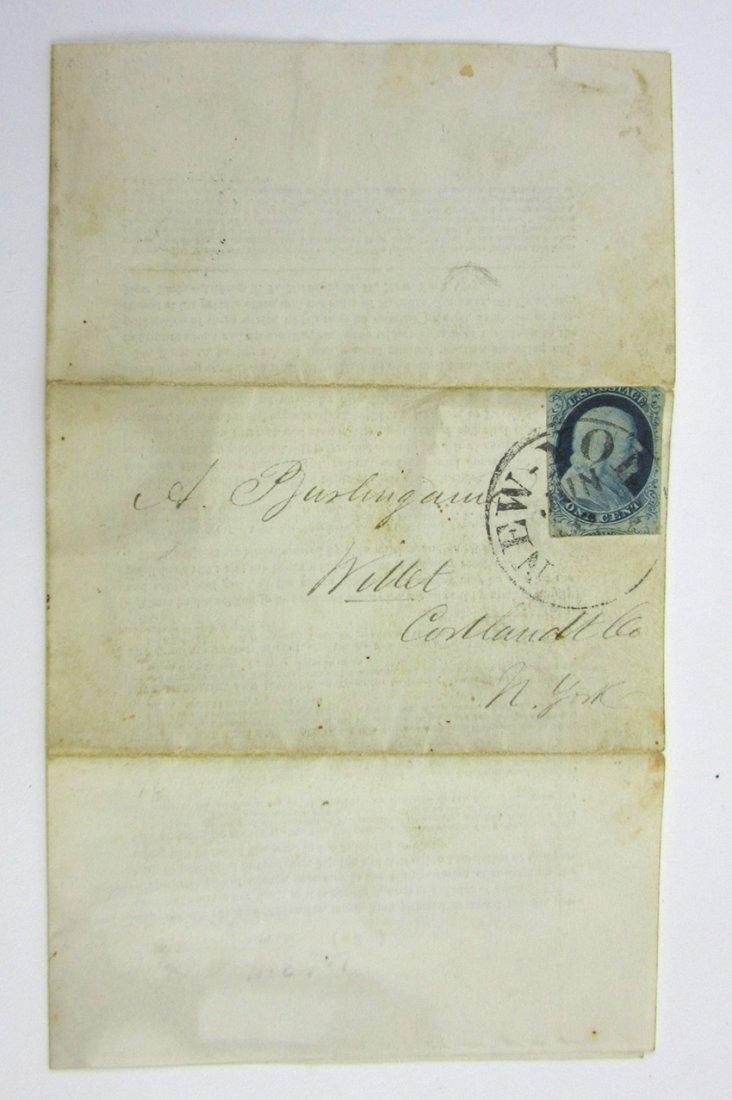 US Stamp 1853- American