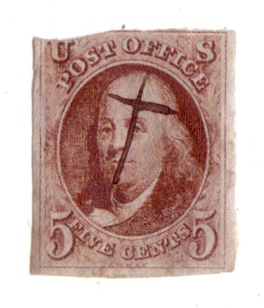 US Stamp. 1847- American.