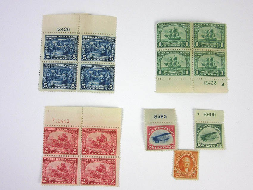 US Stamps. American 20th Century.