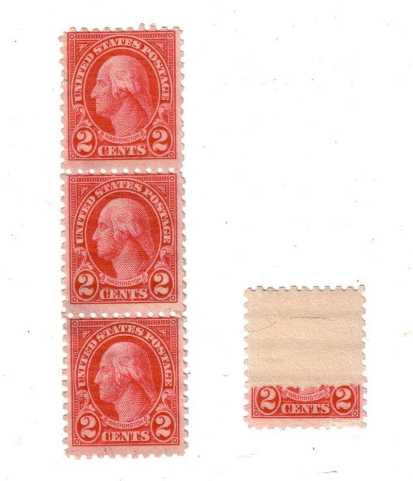 US Stamp Error. American.