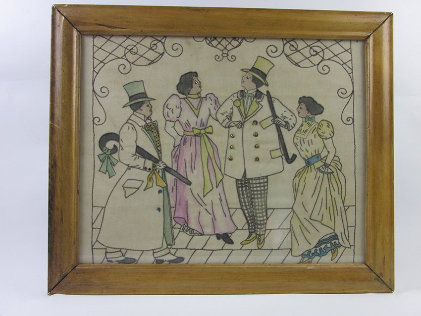 African American Embroidery American circa 1930s?