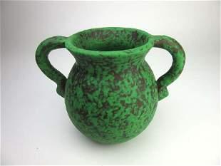 Fine Green Weller art pottery.
