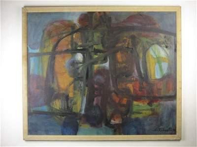Orginal Abstract by Archibald Cuthbertson