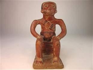 Pre-columbian Carchi figure