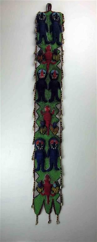 Yoruba beaded Sash
