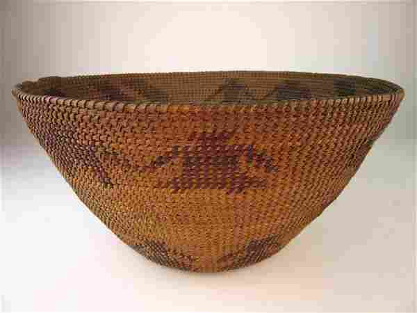 Coiled Native American Basket