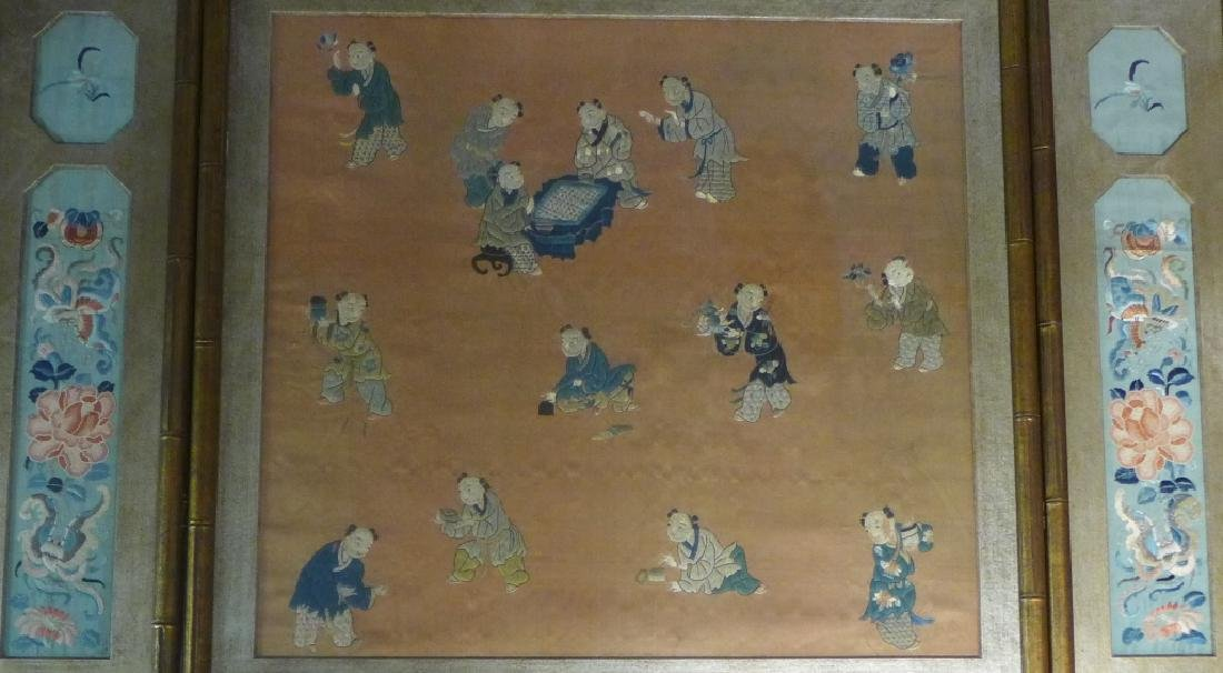 Antique Chinese Embroidery - 2