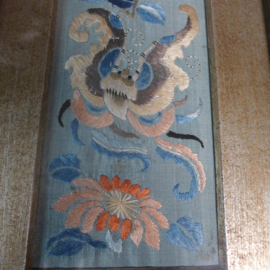 Antique Chinese Embroidery - 3