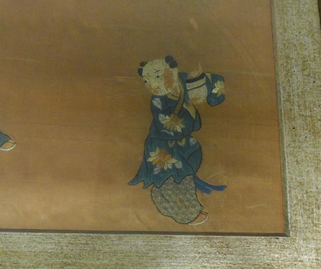 Antique Chinese Embroidery - 4