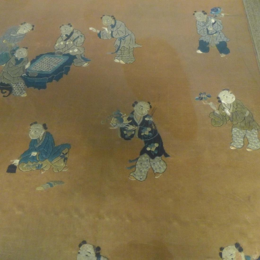 Antique Chinese Embroidery - 9