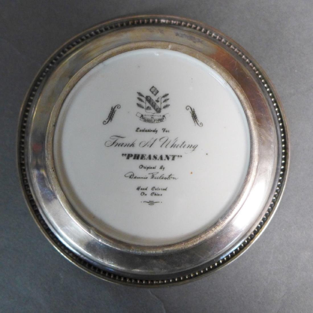 Sterling Silver Decorative Plate Grouping - 3