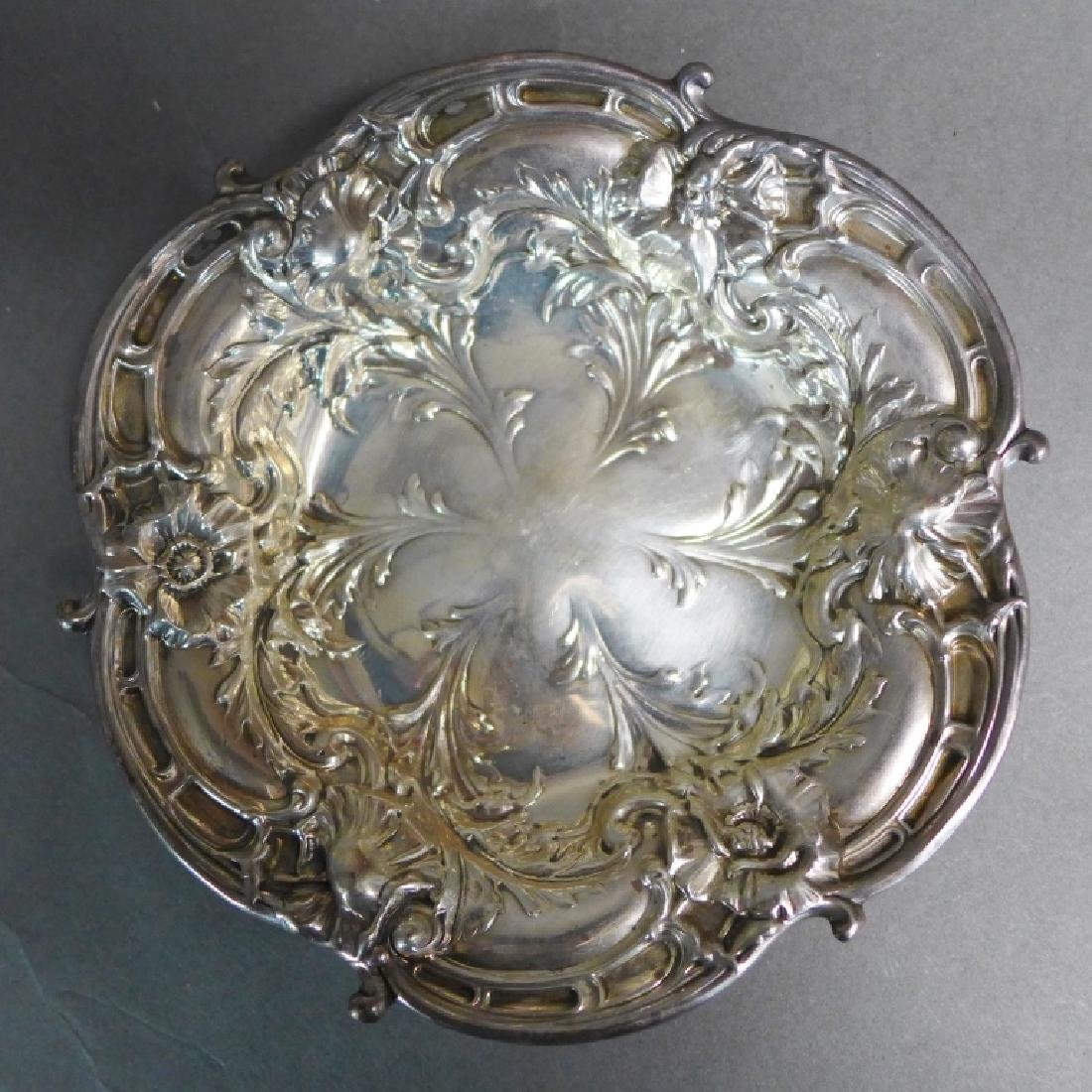 Sterling Silver Decorative Plate Grouping - 5